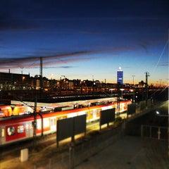 Photo taken at S Hackerbrücke by X on 12/30/2012