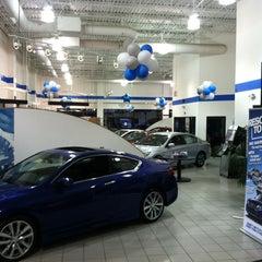 Photo taken at Autopark Honda by Tim M. on 2/13/2013