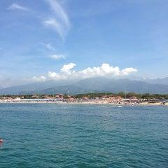 Photo taken at Forte Dei Marmi by Cathrine V. on 6/14/2013