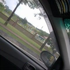 Photo taken at Traffic Light Gate UiTM Seksyen 7 by Kaydee E. on 12/21/2012