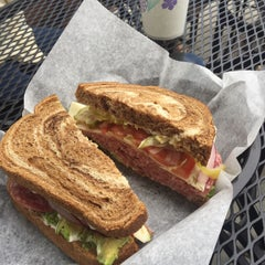Photo taken at Mr. Pickles Sandwich Shop by Patrick L. on 6/27/2015