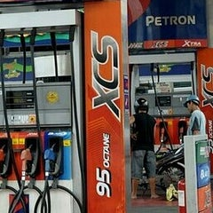 Photo taken at Petron by 🚙 Jonel C. on 9/16/2012