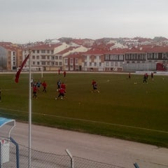 Photo taken at Abdurrahman Temel Futbol Sahası by TC Emrullah Ç. on 3/2/2014