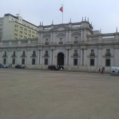 Photo taken at Santiago a Mil (Plaza de La Constitución) by Manuel R. on 2/20/2015
