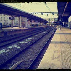 Photo taken at RER Joinville-le-Pont [A] by Greg M. on 3/15/2013