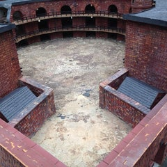 Photo taken at Castle Williams by Forrest on 8/23/2014