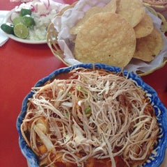 Photo taken at Pozole lucy (solo Viernes) by Cristóbal S. on 4/4/2014
