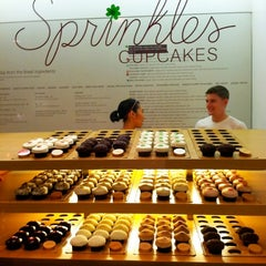 Photo taken at Sprinkles Cupcakes by Sangria W. on 3/9/2013