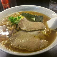 Photo taken at らーめん 川喜屋 by Toru T. on 8/28/2013