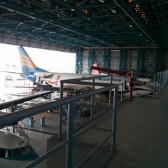 Photo taken at Merpati Maintenance Facility by Rachmatulloh Y. on 4/12/2013