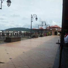 Photo taken at Jesselton Point by Donnie B. on 7/6/2013