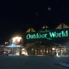 Photo taken at Bass Pro Shops by Peter G. on 2/24/2013