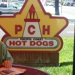 Photo taken at Pacific Coast Hot Dogs (PCH Dogs) by Mandy A. on 6/13/2013