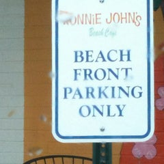 Photo taken at Ronnie Johns Beach Cafe by Kimber A. on 2/7/2013