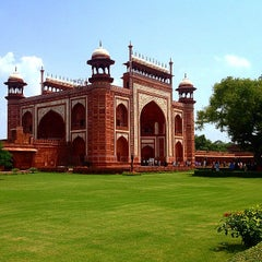 Photo taken at Agra | आगरा |آگره by R. A. on 8/18/2014