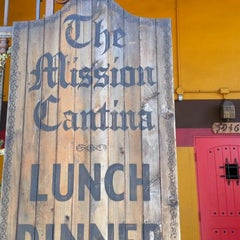 Photo taken at The Mission Cantina by Francis S. on 4/16/2013