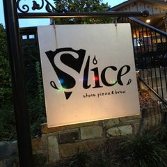 Photo taken at Slice Pizza & Brew by Teresa O. on 8/20/2013