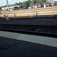 Photo taken at MBTA Canton Junction Station by Ryan L. on 5/21/2013
