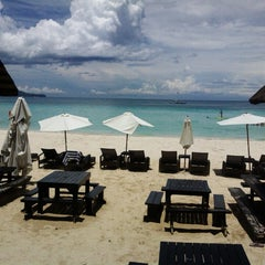 Photo taken at White House Resort Boracay by Carlo Kaloyskee T. on 5/24/2013