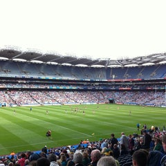 Photo taken at Croke Park by nucc on 7/27/2013