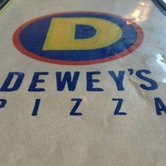 Photo taken at Dewey's Pizza by Drew W. on 6/14/2013