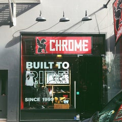 Photo taken at Chrome Industries by Nathan K. on 10/24/2012