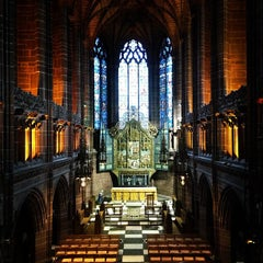 Photo taken at Liverpool Cathedral by Mr. M. on 1/28/2013