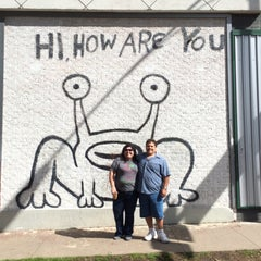 Photo taken at Hi How Are You? Mural by lorena l. on 3/22/2015