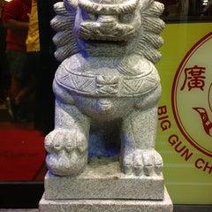 Photo taken at Big Gun Chinese Restaurant (廣州樓) by Sia M. on 7/18/2013