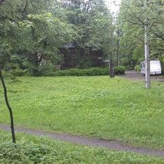 Photo taken at Парк Лесотехнической Академии by Leonid V. on 5/23/2013
