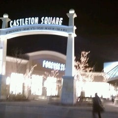 Photo taken at Castleton Square Mall by Andrew S. on 11/27/2012