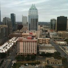 Photo taken at Hilton Austin by frank d. on 12/15/2012