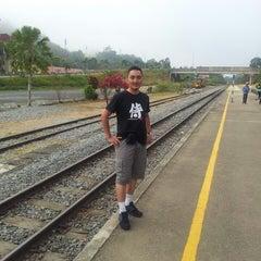 Photo taken at KTM Dabong Railway Station (Stesen Keretapi) by al f. on 3/7/2014