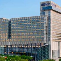 Photo taken at Hilton Americas-Houston by Lauren R. on 7/29/2013
