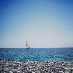 Photo taken at Beach Park by Volkan Ö. on 7/20/2013