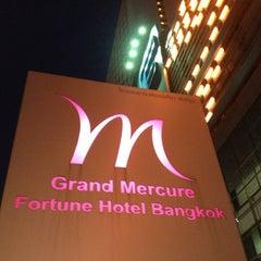 Photo taken at Grand Mercure Bangkok Fortune (โรงแรมแกรนด์เมอร์เคียว กรุงเทพ ฟอร์จูน) by Prasert L. on 6/4/2013