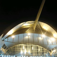 Photo taken at Sultan Hasanuddin International Airport (UPG) by Muhamad F. on 7/22/2013