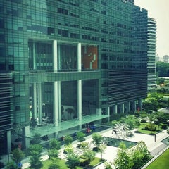 Photo taken at Mapletree Business City by Brian K. on 4/9/2015
