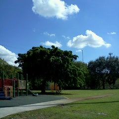 Photo taken at Pompano Park by Bianca Lois D. on 1/20/2013