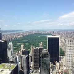 Photo taken at Top of The Rock Observation Deck by Julia B. on 6/14/2013