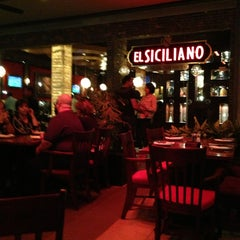 Photo taken at El Siciliano by Beto D. on 2/24/2013