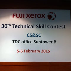 Photo taken at Fuji Xerox (Thailand) Co., Ltd. by Juu W. on 2/6/2015