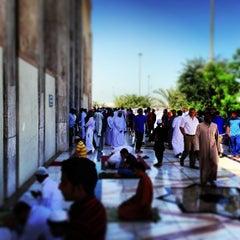 Photo taken at جامع أبي بكر الصديق by Mohsin A. on 3/15/2013