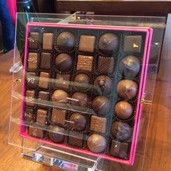 Photo taken at Fran's Chocolates by Myra K. on 5/3/2015