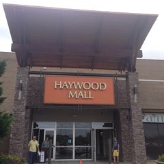Photo taken at Haywood Mall by Silke D. on 7/5/2013