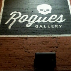 Photo taken at Rogues Gallery by Caitlin H. on 7/20/2013