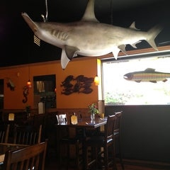 Photo taken at Hooked Seafood Restaurant by Manny R. on 5/28/2013