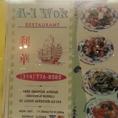 Photo taken at A-1 Wok by Laura L. on 1/26/2014