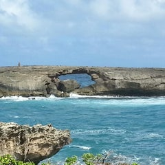 Photo taken at Laie Point by Kendra W. on 2/7/2013