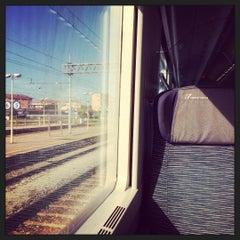 Photo taken at Stazione Asti by Matteo R. on 8/17/2015